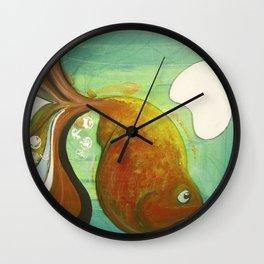 Heavy fish Wall Clock
