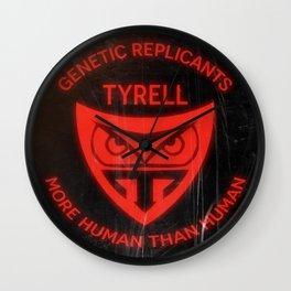 Tyrell Corporation - More human than human Wall Clock