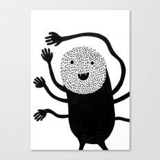 Monster hands Canvas Print