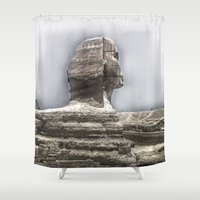 egypt Shower Curtains featuring Egypt by Alex Alexandru