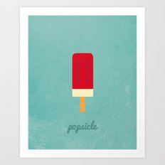 Sweet Tooth - Popsicle Art Print