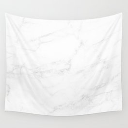 White Marble II Wall Tapestry