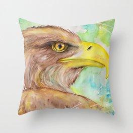 The Eagle's Eye Throw Pillow