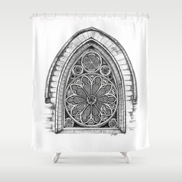 Intricate Architecture Shower Curtain
