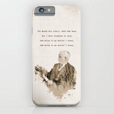 Miles To Go, Before I Sleep. Slim Case iPhone 6s