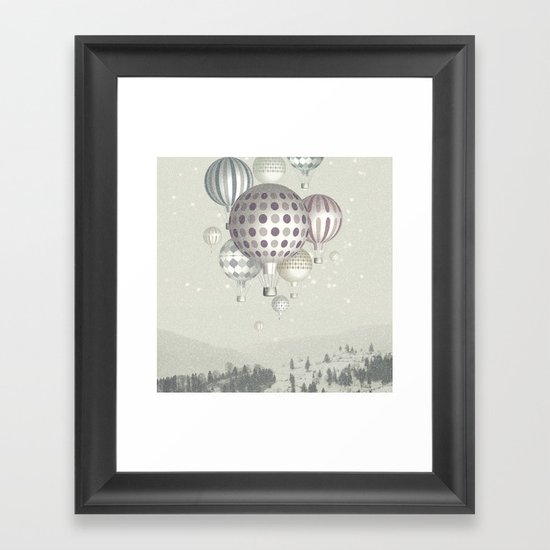 Winter Dreamflight Framed Art Print