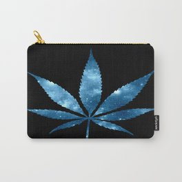 Weed : High Times blue Galaxy Carry-All Pouch
