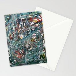 Scramble of disruption Stationery Cards