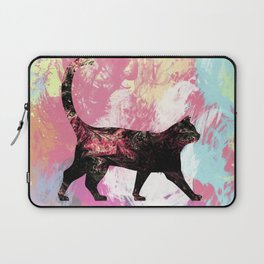 Abstract Cat Laptop Sleeve
