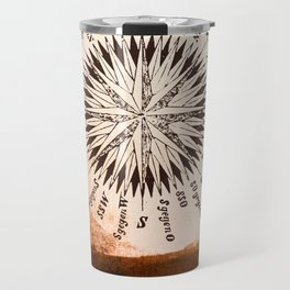 Windrose brown version Travel Mug