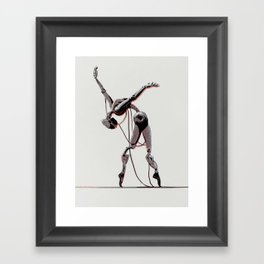 Dancer Framed Art Print