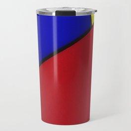 primary colors Travel Mug