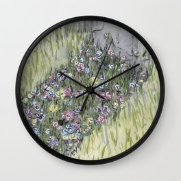 SHADOWS Wall Clock