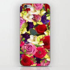Rose Bouquet iPhone & iPod Skin