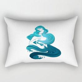 Light through the Waves Rectangular Pillow