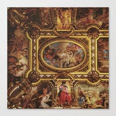 Ceiling of the Palais Garnier Canvas Print