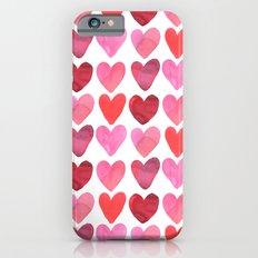 Heart Watercolor Slim Case iPhone 6s