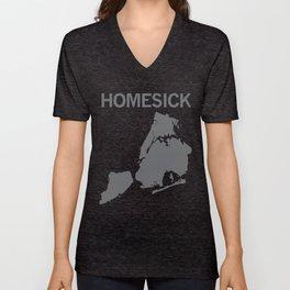 Homesick New Yorker Unisex V-Neck