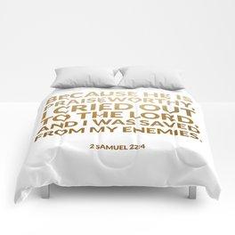 2 Samuel 22:4 Comforters