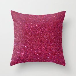 Glitter_002_by_JAMColorVibes Throw Pillow