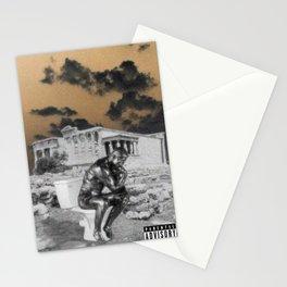 Thinking man aesthetic Stationery Cards