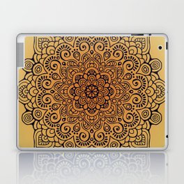 Mandala dark blue Laptop & iPad Skin