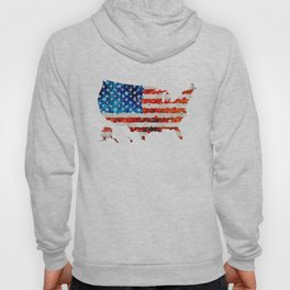 Map of The United States Of America 23 - Sharon Cummings Hoody