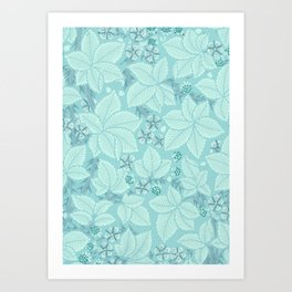 "William Morris ""Bramble"" 2. Art Print"