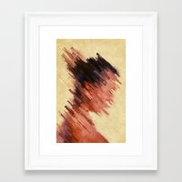 woman Framed Art Prints featuring Woman by SensualPatterns