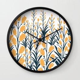 Floral Arrangement No.1 Wall Clock