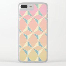 Triangles and Squares XI Clear iPhone Case