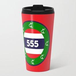 Thai flag roundel  555  HA HA HA Travel Mug