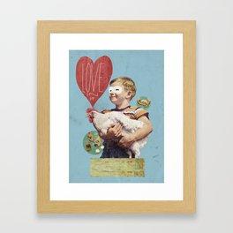 love in it Framed Art Print