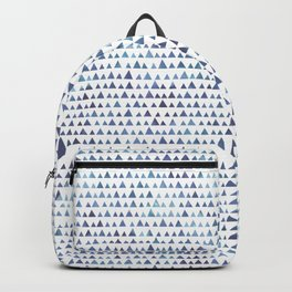 Watercolor triangles pattern Backpack