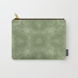 Sage Abstract III Carry-All Pouch