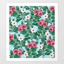 Flower garden II Art Print