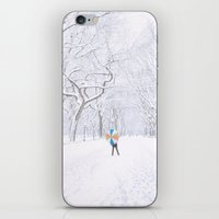 central park iPhone & iPod Skins featuring Central Park  by Vivienne Gucwa