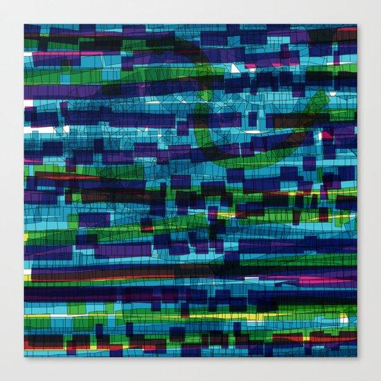 squares traffic Canvas Print