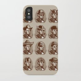 Abe Tries on Hats iPhone Case
