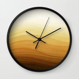 Latte Wall Clock