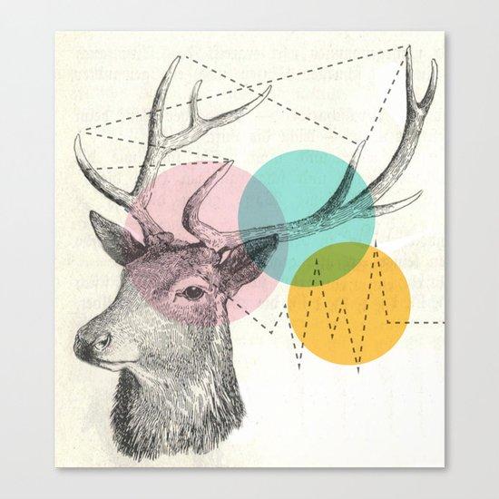 stitch doe Canvas Print