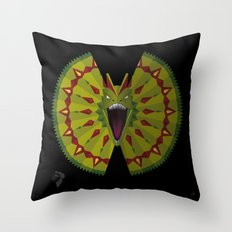 Beautiful but Deadly Throw Pillow