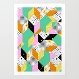 Clinging Onto The Past Art Print