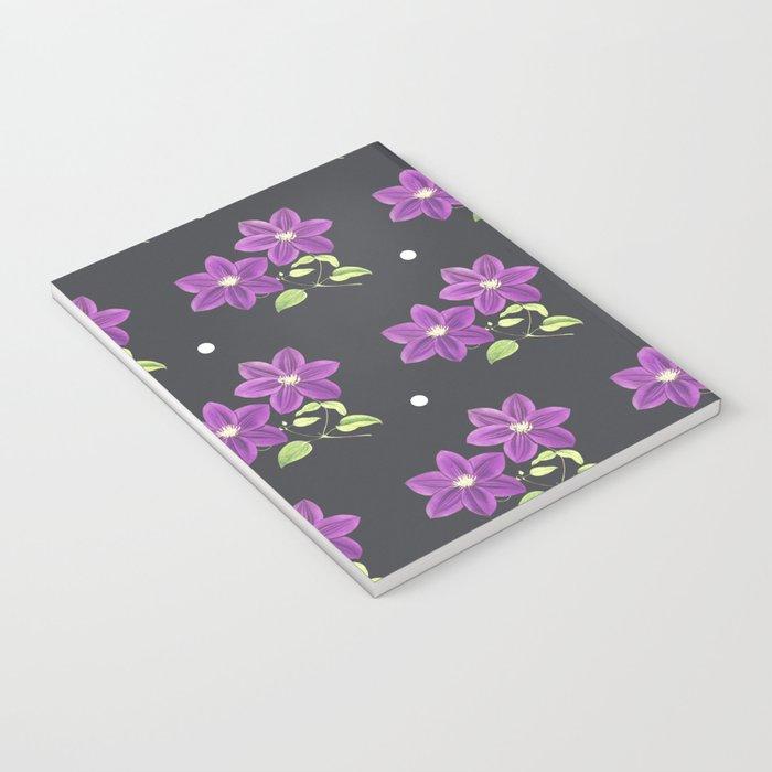 FLOWERS PATTERN Notebook