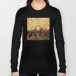 st louis city skyline Long Sleeve T-shirt