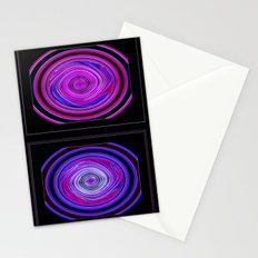 Abstract Modern Circles. Stationery Cards