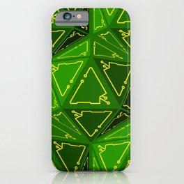 D20 Cyberpunk iPhone Case
