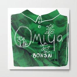 Omiya Bonsai Souvenir Shirt Print   Metal Print