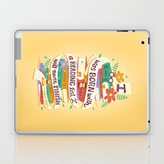 Reading list Laptop & iPad Skin