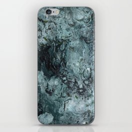 Green Pour iPhone Skin